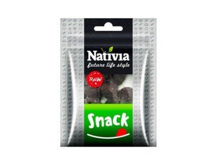 Nativia Dog pochoutka RAW SNACK 50g