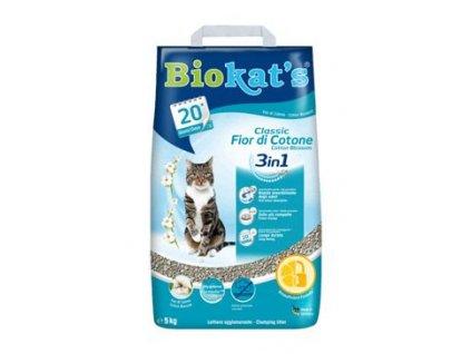Podestýlka Biokat's Classic Cotton Blossom 5kg