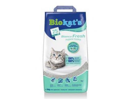 Podestýlka Biokat's Bianco Fresh Control 5kg