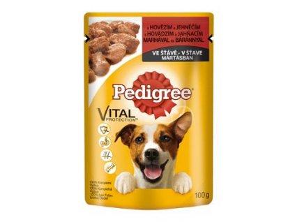 Pedigree kapsa Adult hovězí/jehně 100g