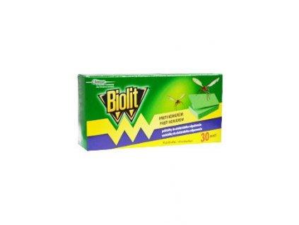Biolit náhradní polštářky proti komárům 30ks