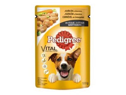 Pedigree kapsa kuřecí a zelenina 100g