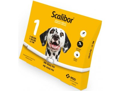 Scalibor antipar. obojek pro velké psy 65 cm