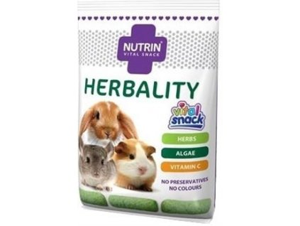 Darwins Nutrin Snack Herbality - býložravec 100 g