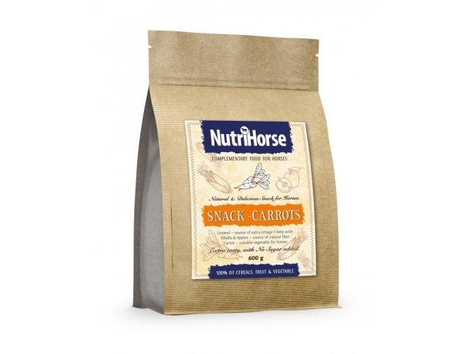 NutriHorse Snack mrkev pro koně