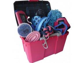 Box na čištění SIENA růžový