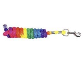 Vodítko HKM Multicolor s háčkovou karabinou 1,8m