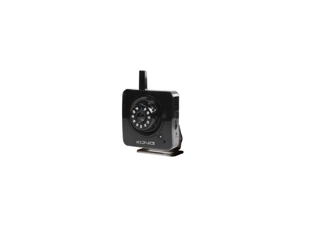 ip bezdratova kamera wifi s funkci detske chuvicky slot pro sdkartu konig ip cam 100b cerna