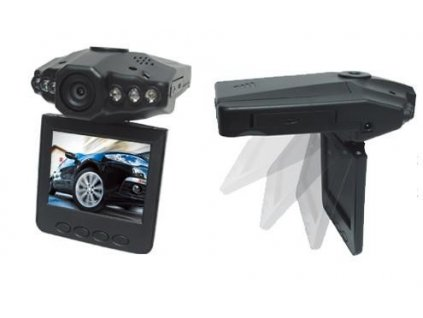 Mini HD - DVR kamera do auta  Stylová vyklápěcí kamera do auta