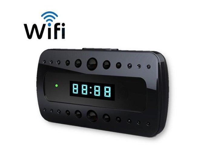 Wifi špionážní budík CC15