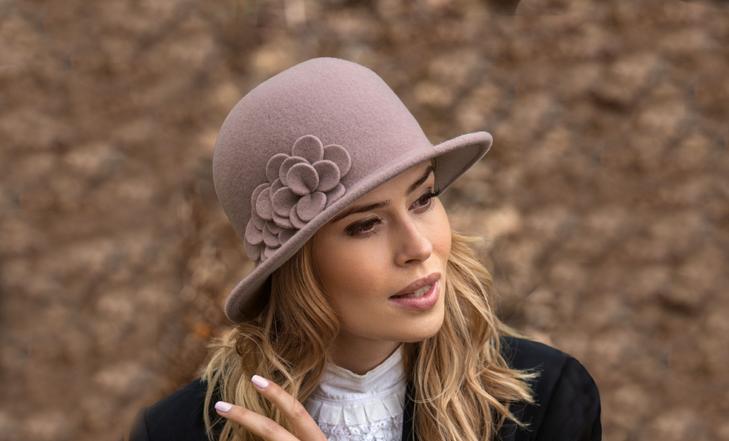 dámské vlněné klobouky