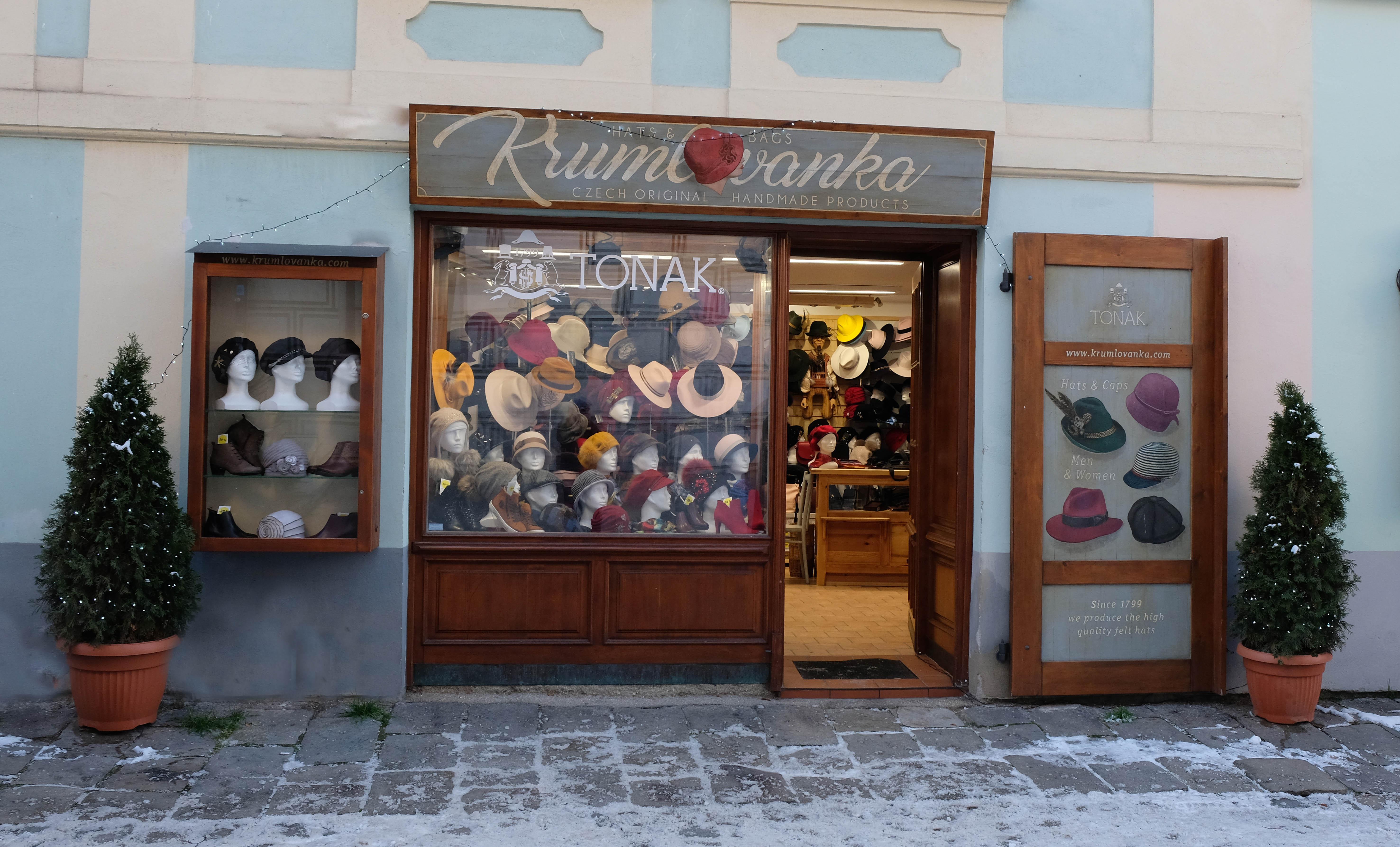 Krumlovanka kamenný obchod
