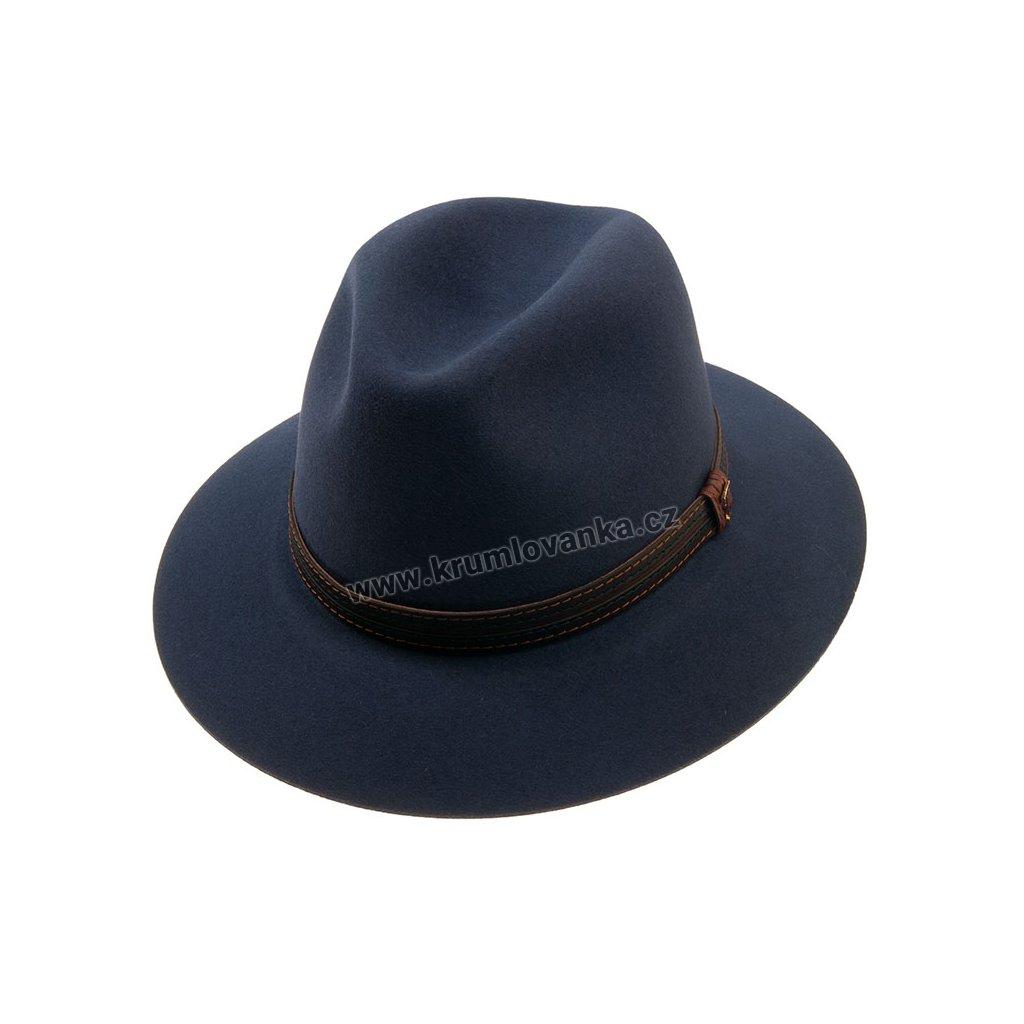 1251117 Q3049 1 pansky plsteny klobouk modry