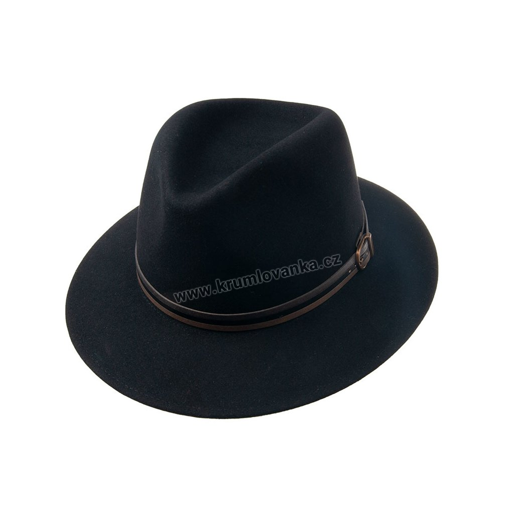 1190515 Q9030 1 pansky plsteny klobouk cerny