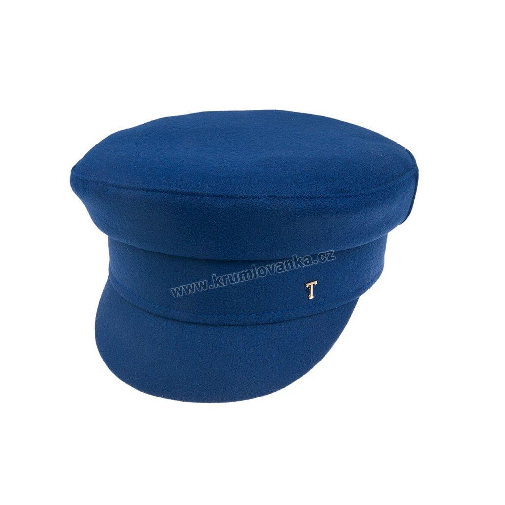 Vlněná kapitánka TONAK 006/19 modrá