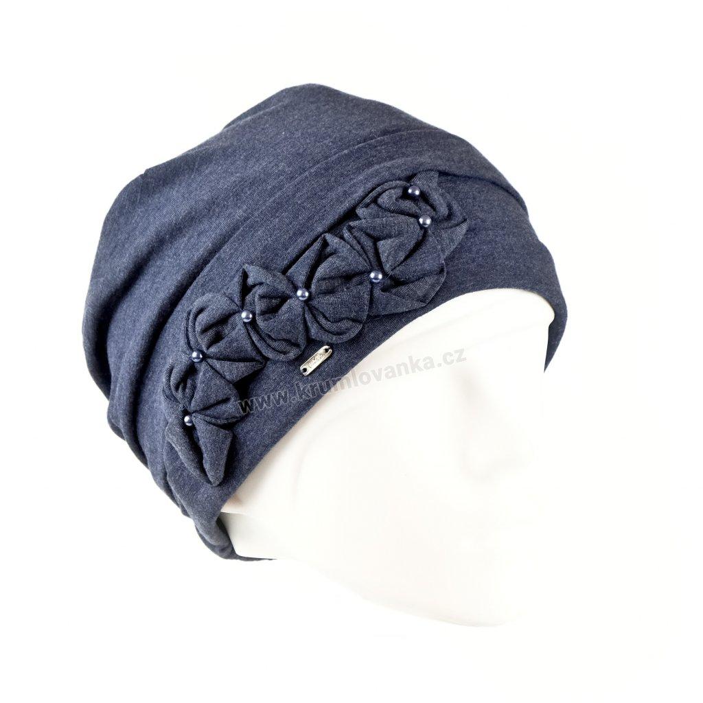 Lasita bavlna modrá