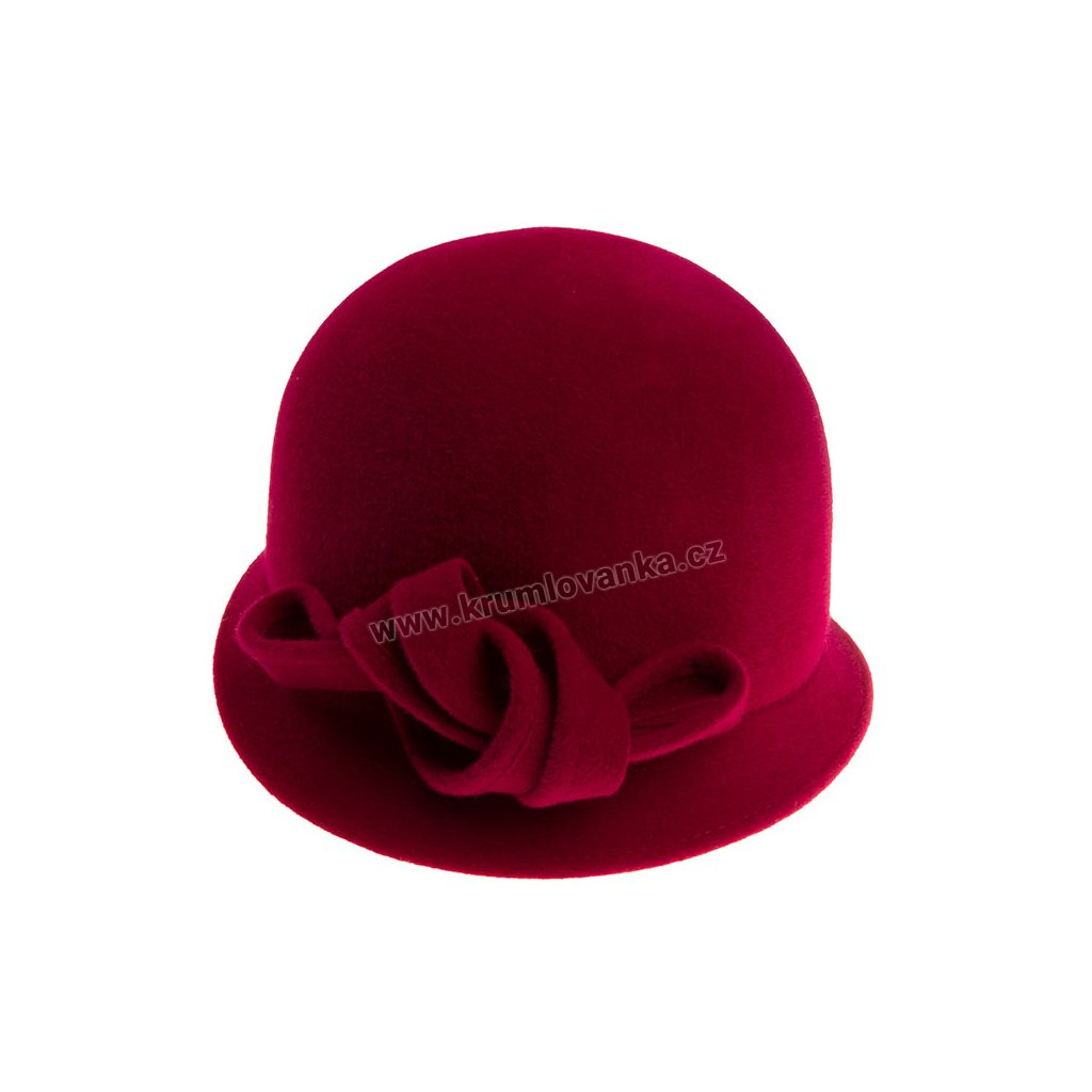 5351618 Q1266 1 damsky plsteny klobouk fialovy