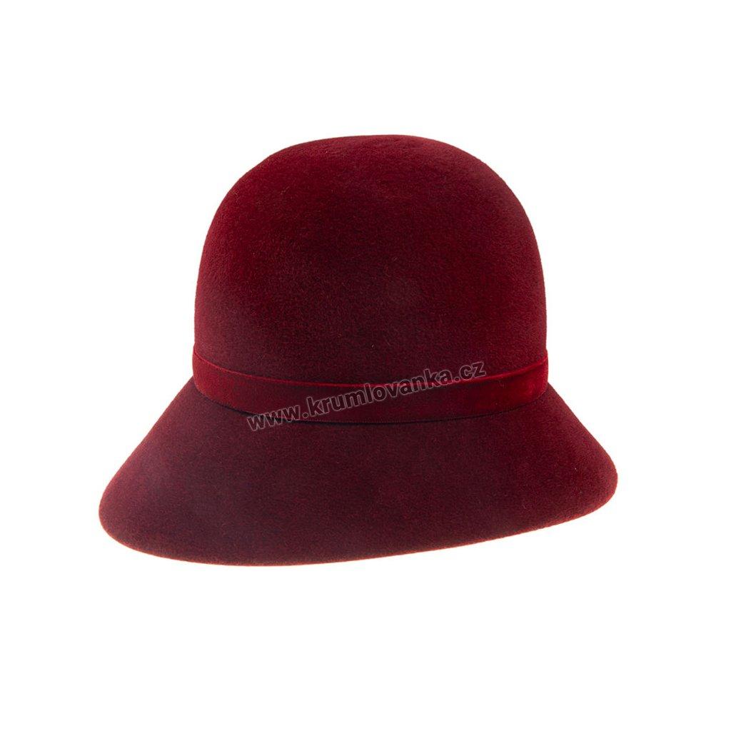 Dámský plstěný klobouk TONAK 52725/14 Bordo Q1018