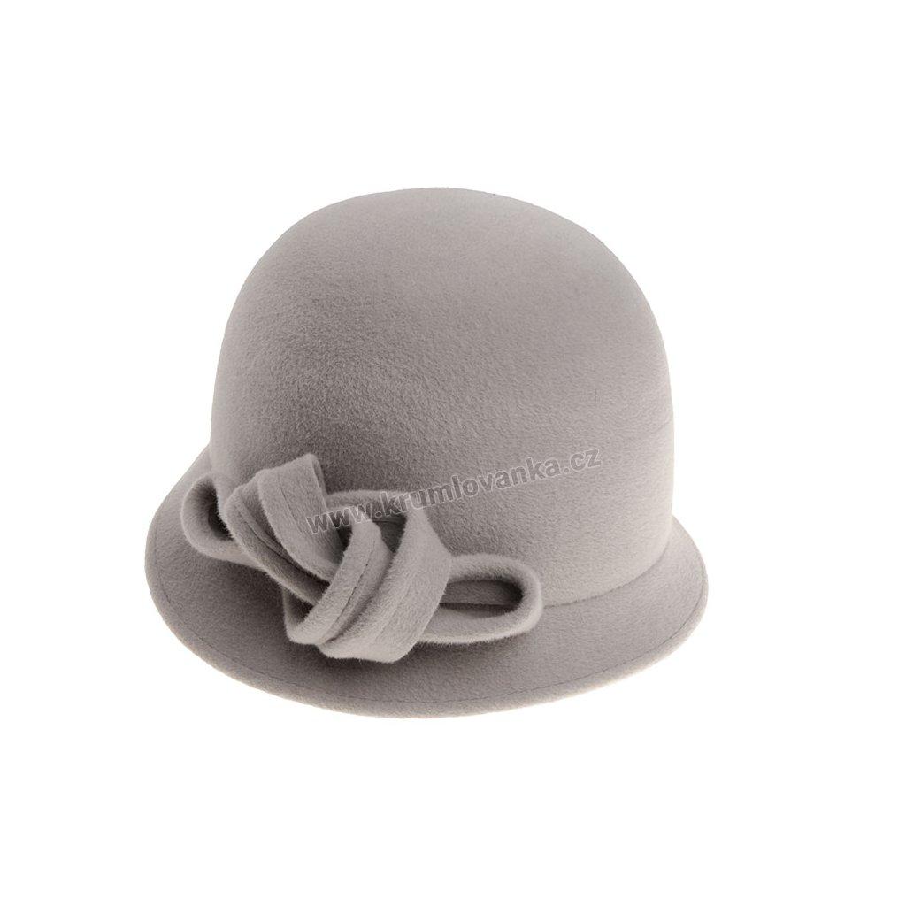 Dámský plstěný klobouk TONAK 53516/18 Šedý Q8005