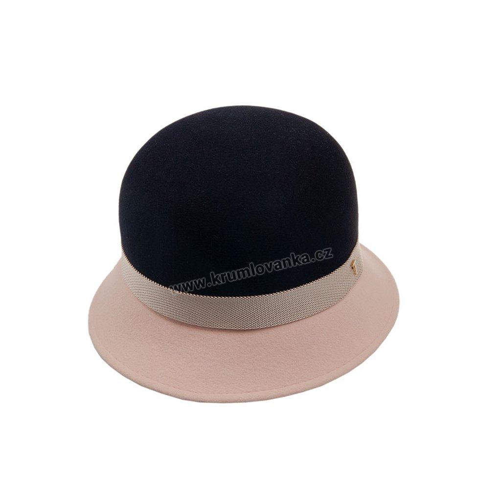 Dámský plstěný klobouk TONAK 53622/19 Tmavě modrý Q3050
