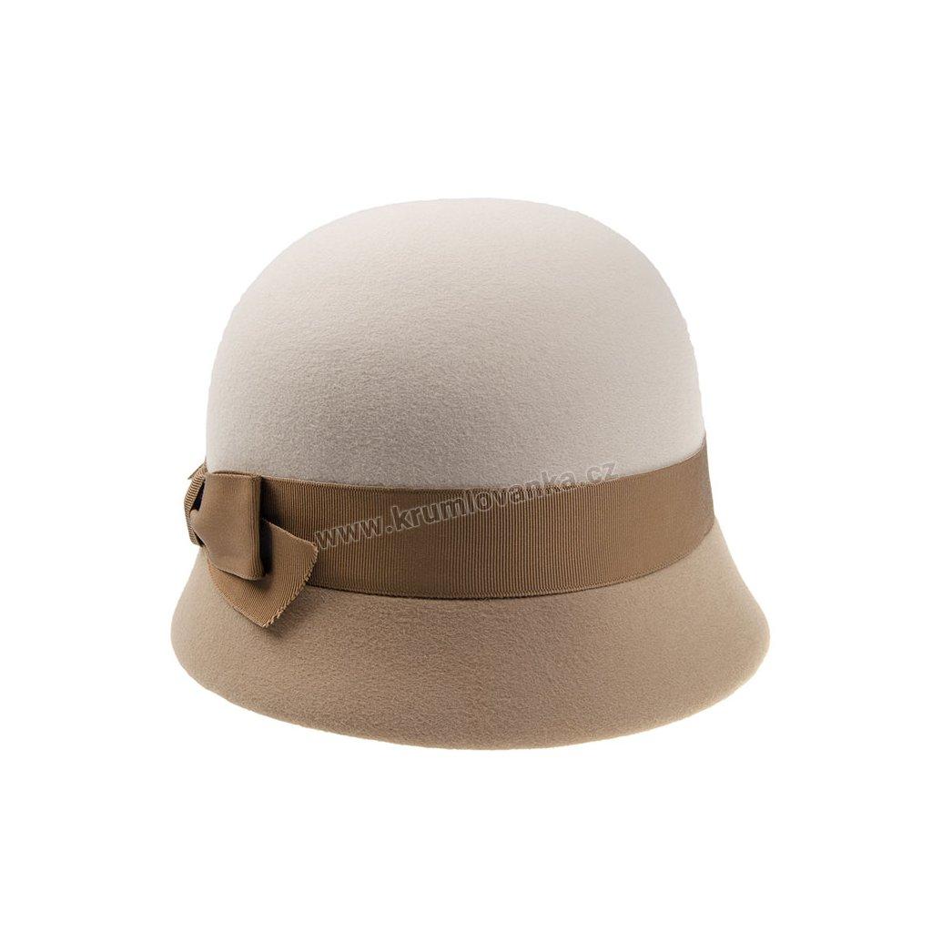 Dámský plstěný klobouk TONAK 53332/17 béžový Q 7182
