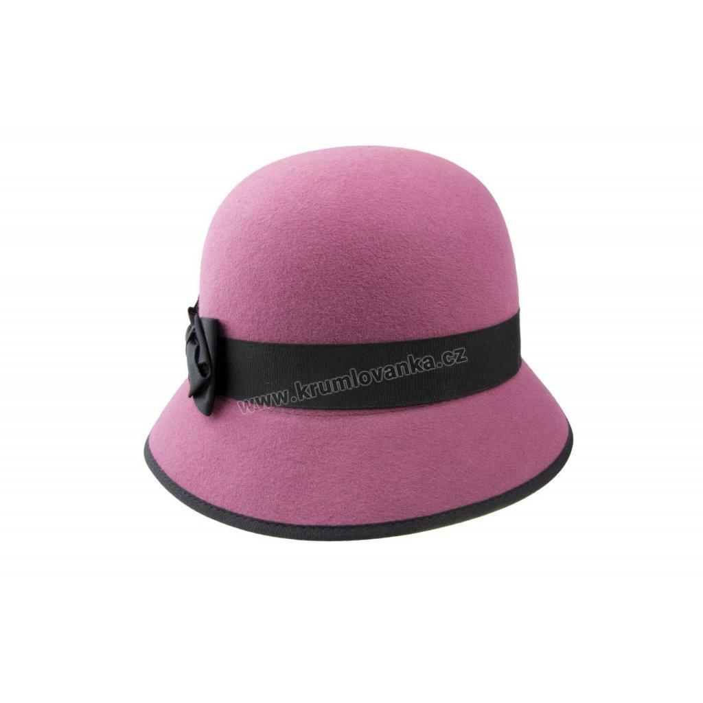 Dámský plstěný klobouk TONAK 52806/15 starorůžový Q 1093