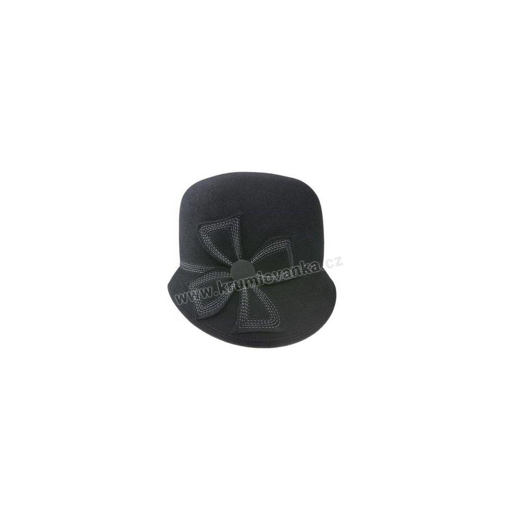 Dámský plstěný klobouk TONAK 52786/15 černý Q 9030