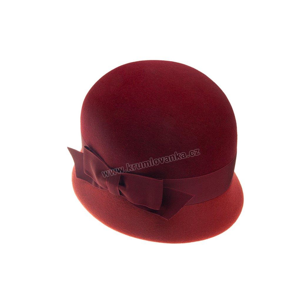 Dámský plstěný klobouk TONAK 53332/17 bordo Q 1018