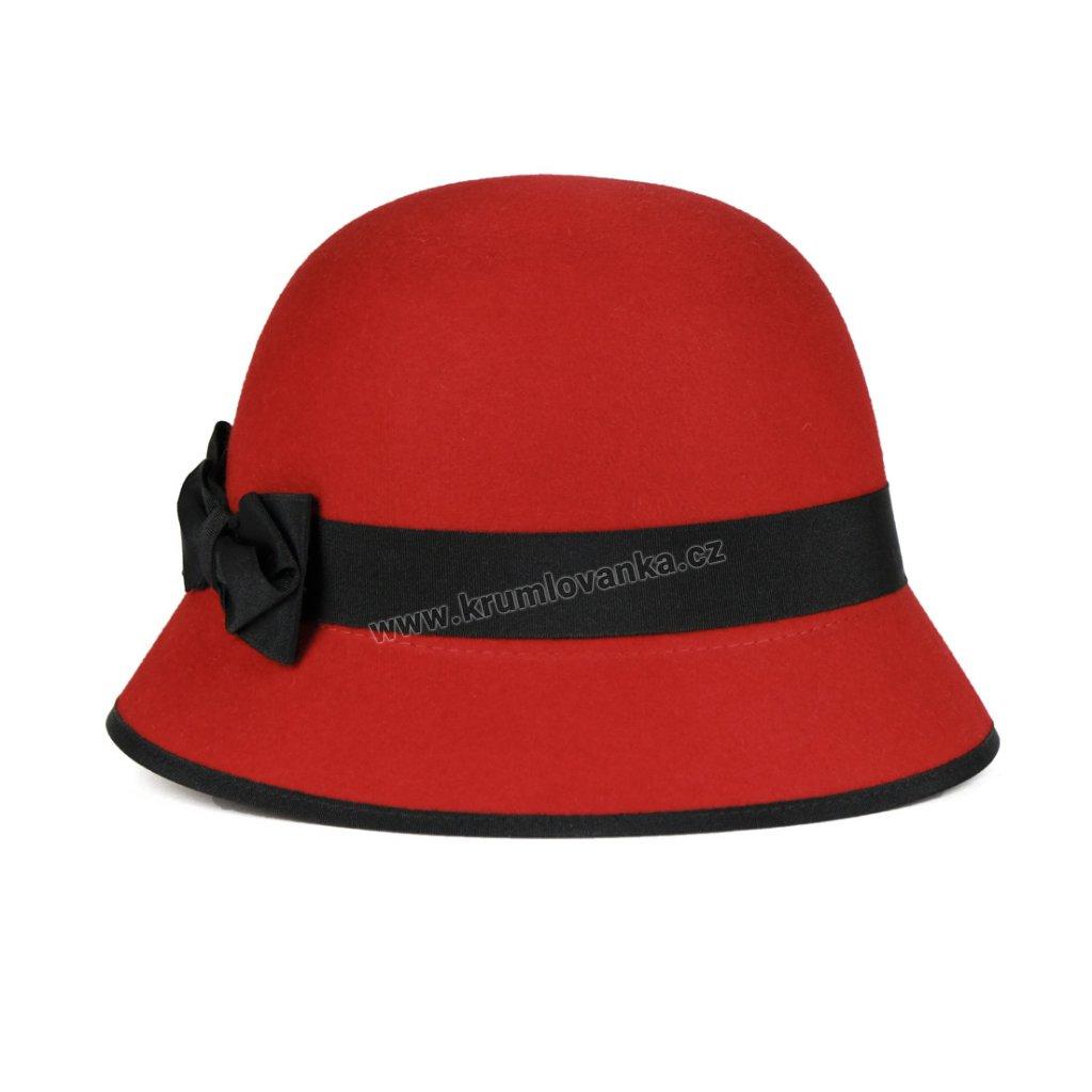 Plstěný klobouk TONAK 52806 15 červený Q1047 1