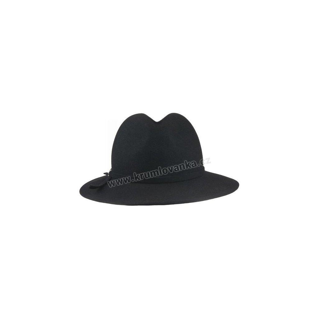 Plstěný klobouk TONAK 52814/15 černý Q 9030