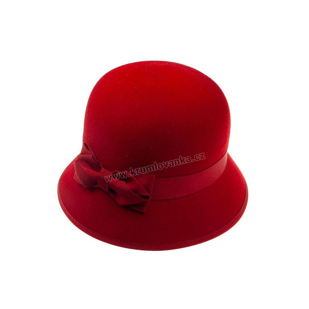 5329517 Q1140 1 damsky plsteny klobouk cerveny