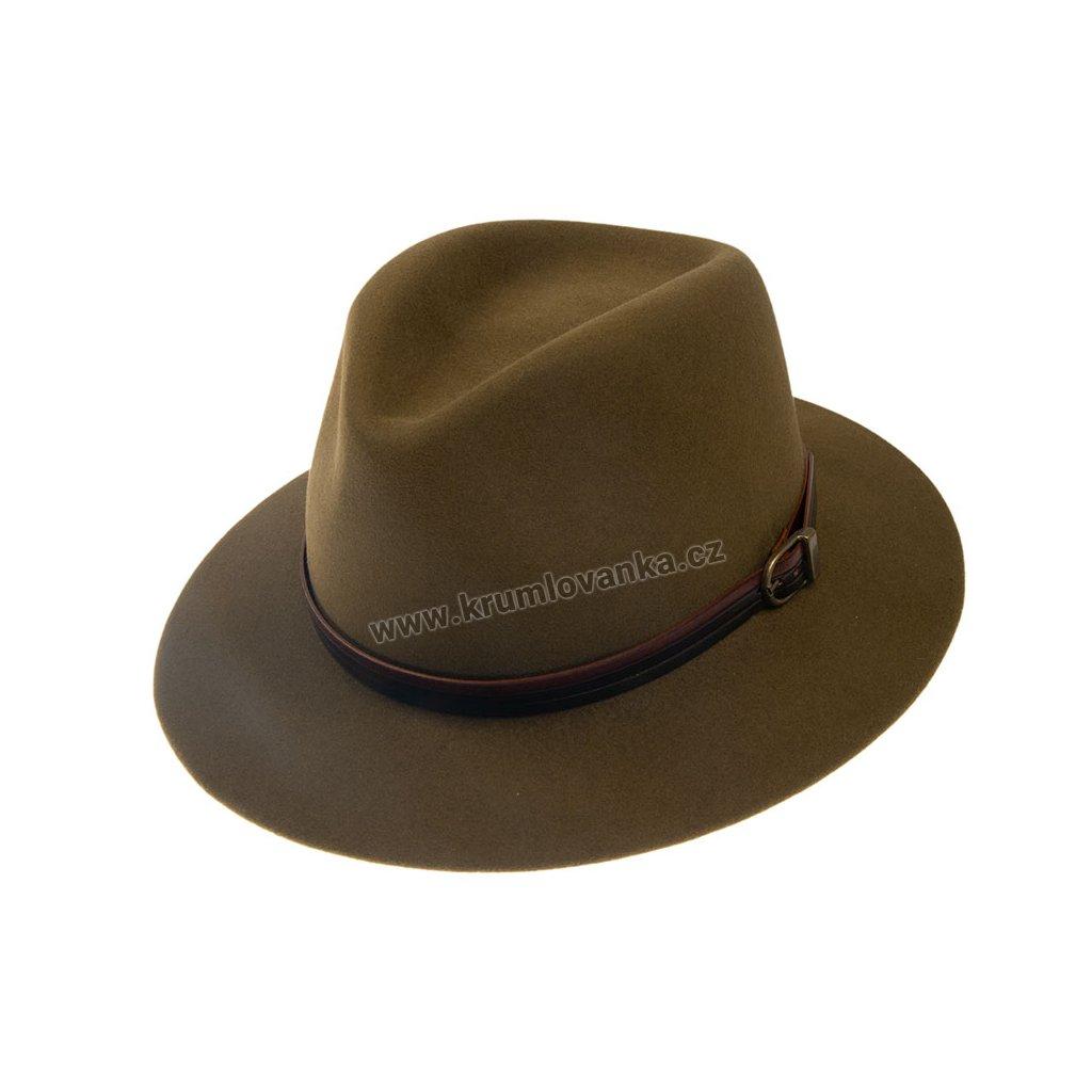 Plstěný klobouk TONAK 11905/15 Khaki Q5001
