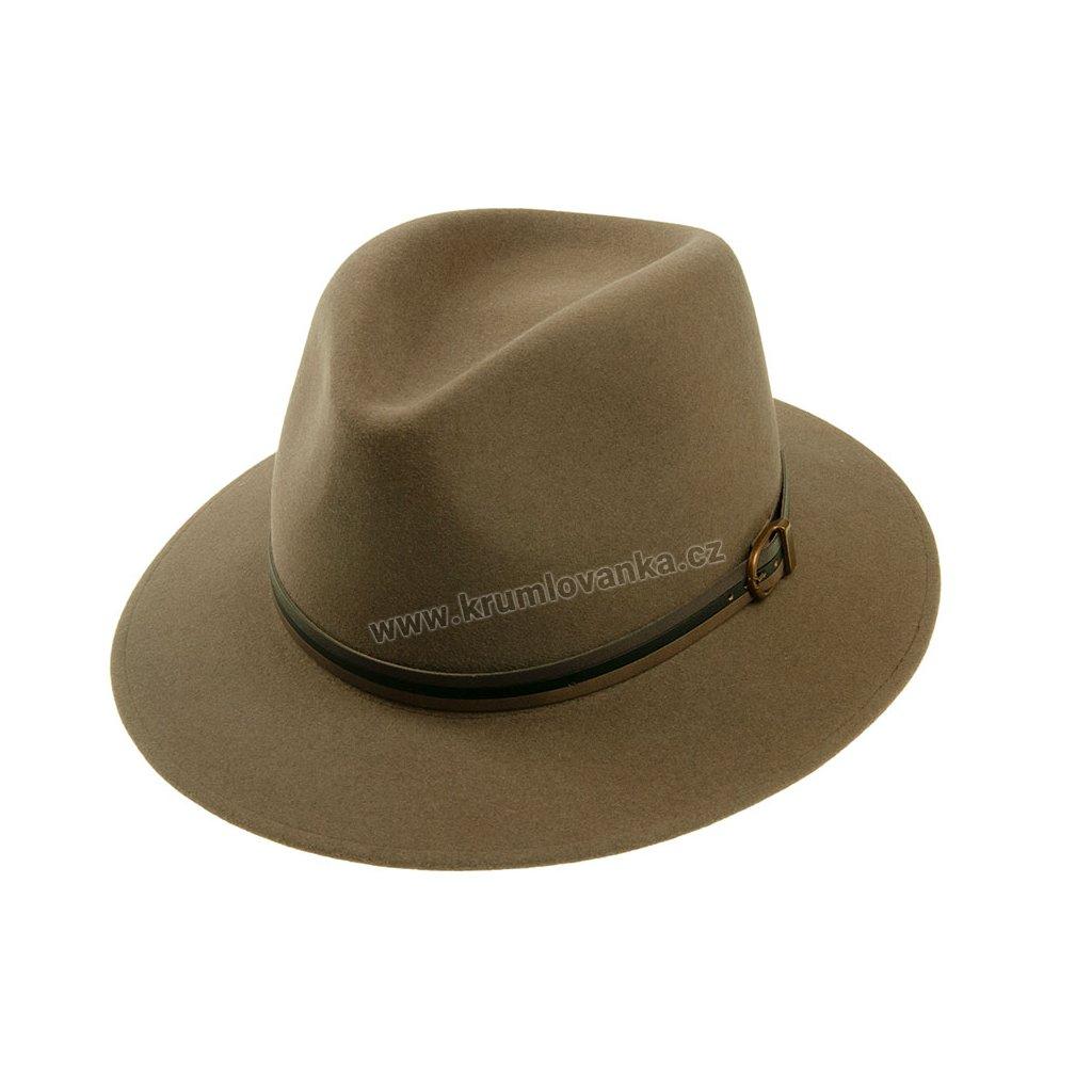 Plstěný klobouk TONAK 11905/15 světle hnědý Q 8007