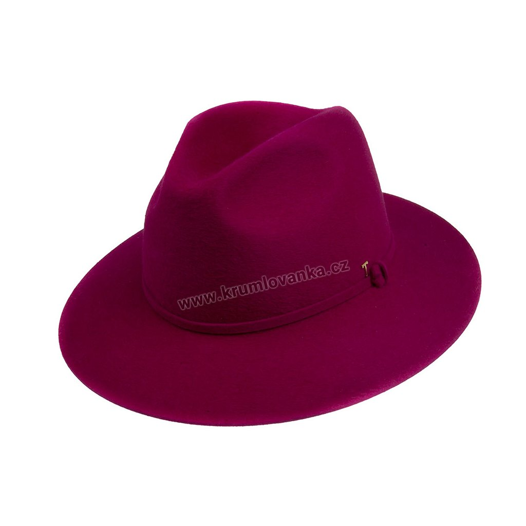 Plstěný klobouk TONAK Colour obsession 53428/17 fialový Q 2077