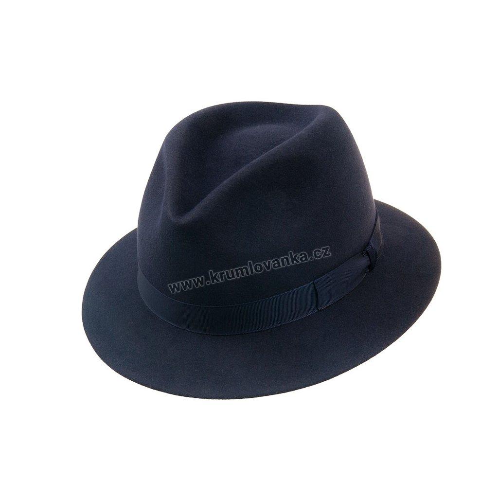 Plstěný klobouk TONAK 12877/19 modrý Q 3050