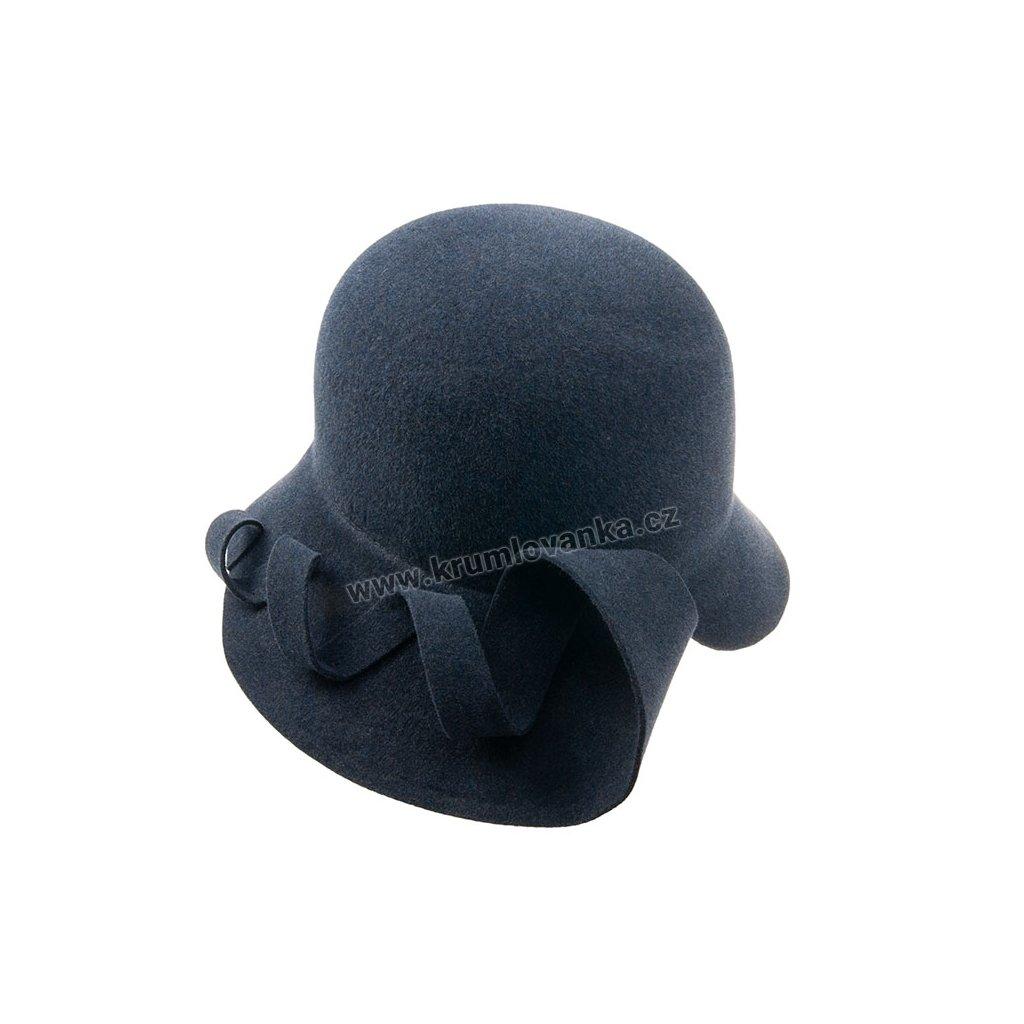Plstěný klobouk TONAK 52660/14 modrý 1030