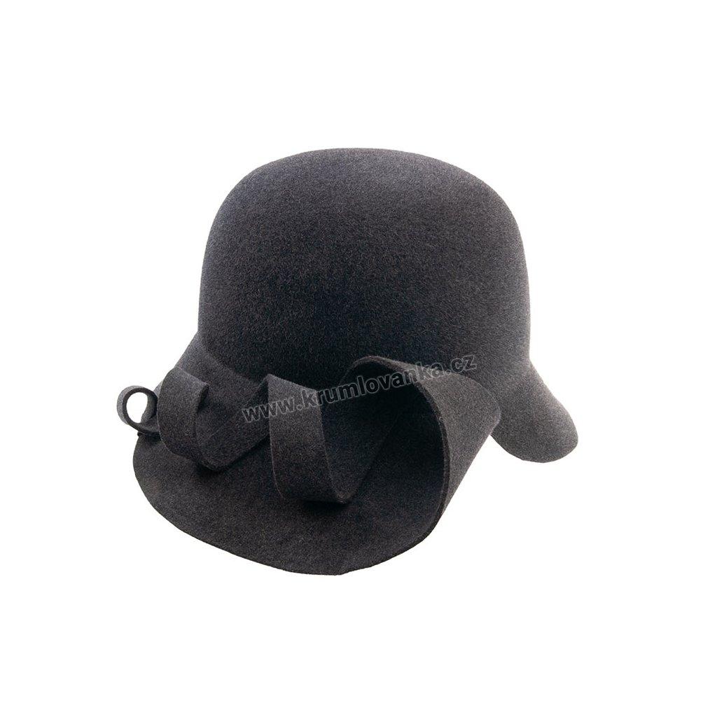 Plstěný klobouk TONAK 52660/14 šedý 1581