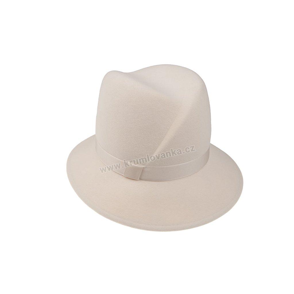 Plstěný klobouk TONAK 53608/19 bílý  Q 7009