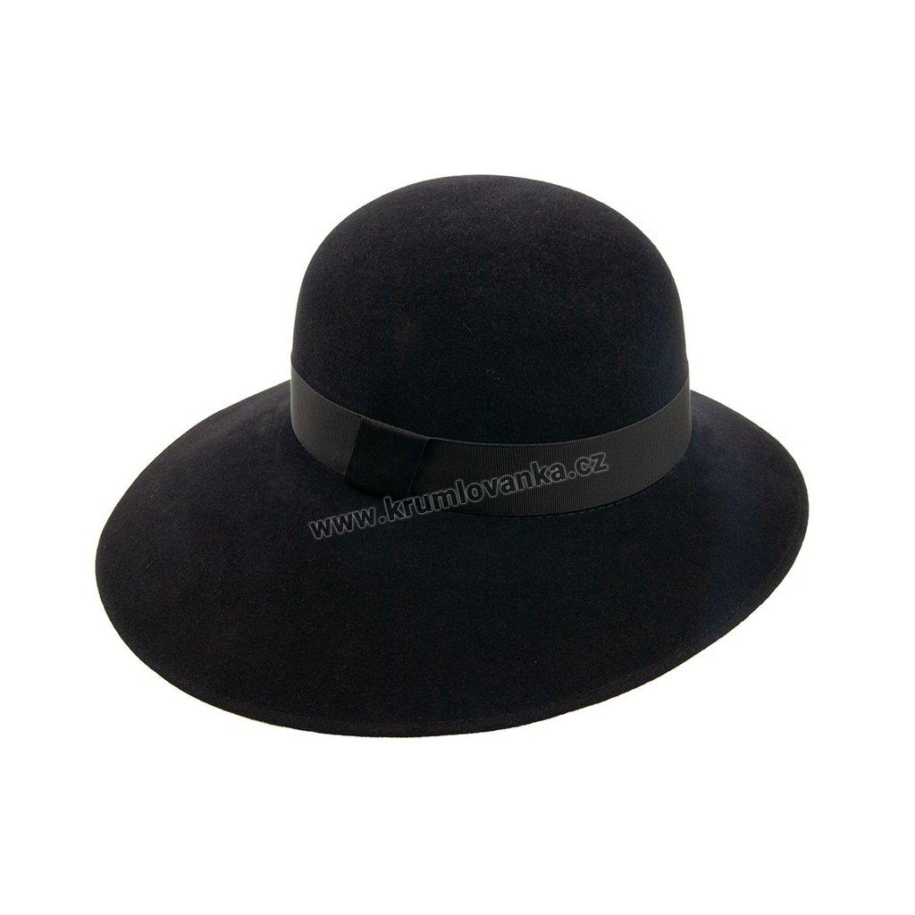 Plstěný klobouk TONAK 53407/17 černý Q 9030