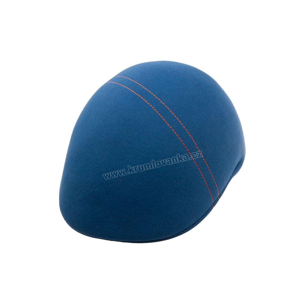 Plstěná čepice TONAK 11505 modrá Q 3271