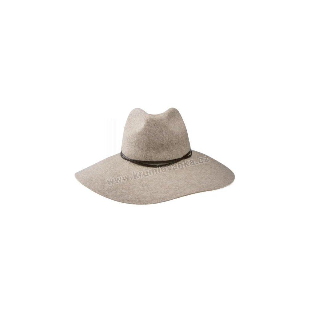 Plstěný klobouk TONAK Profile brim hat Sydney 52917/15 světle hnědý 2071