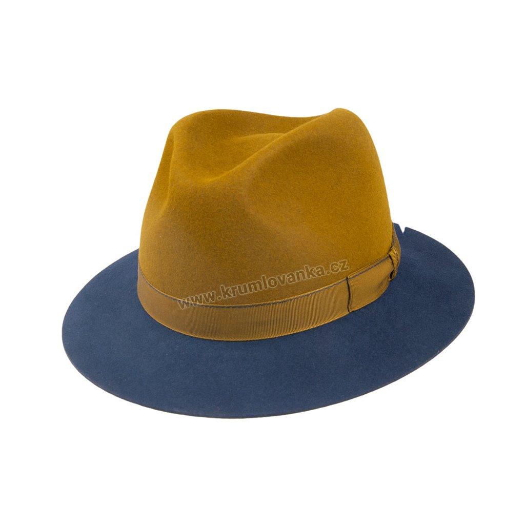 Plstěný klobouk TONAK 11506/13 hnědý  Q 5015