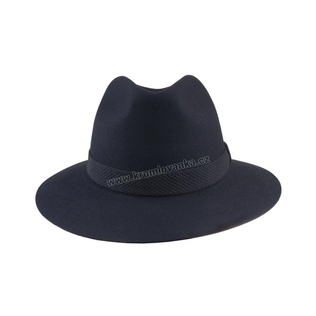 Plstěný klobouk TONAK 100031 tmavě modrý  Q 3025