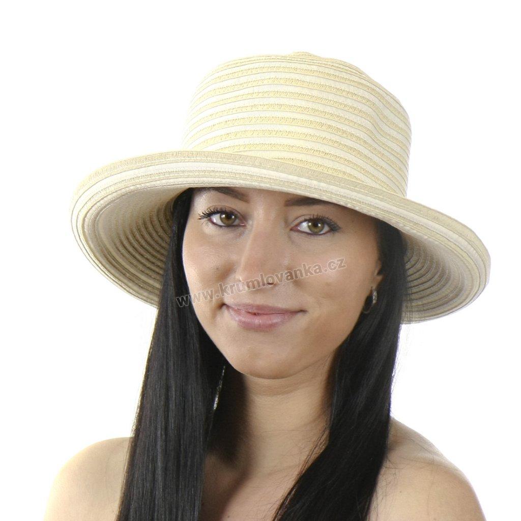 Dámský letní klobouk 69864 Fiebig 4x