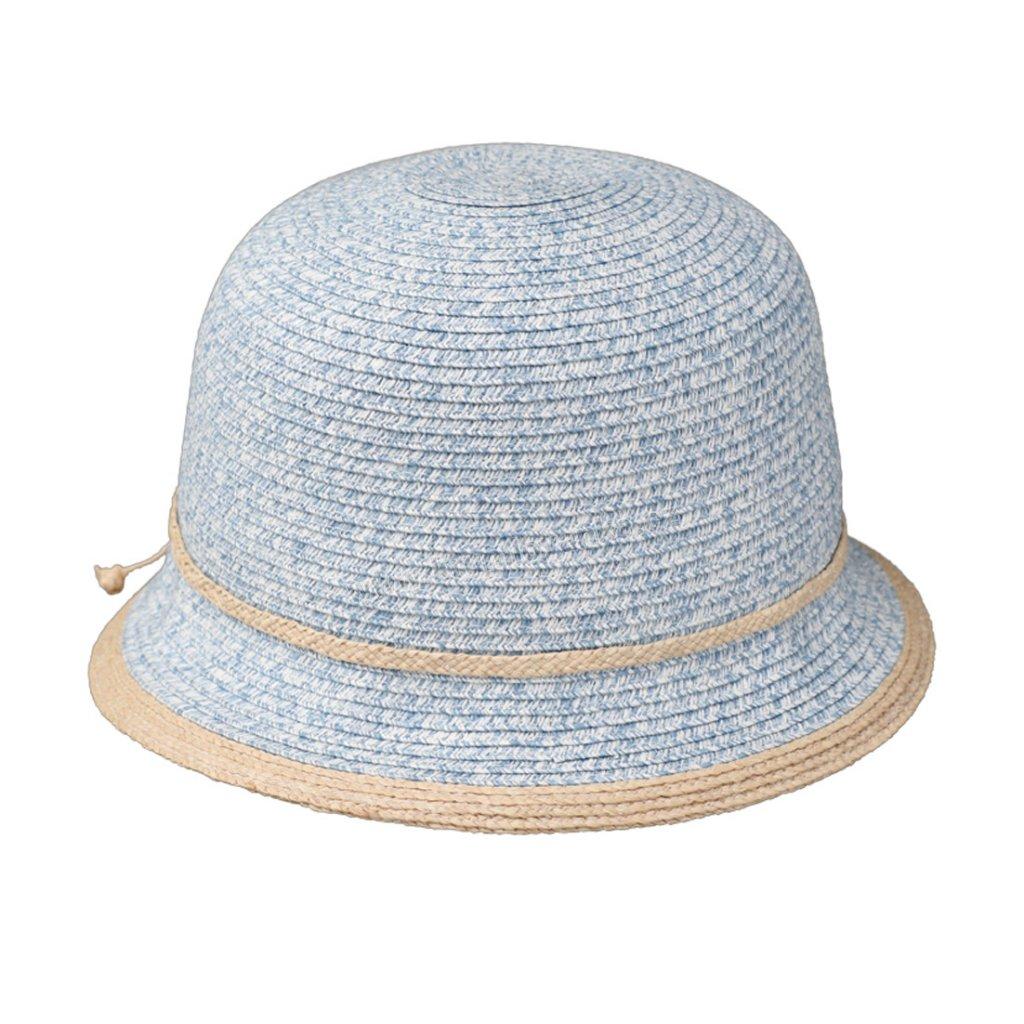 Dámský letní klobouk Fiebig Cloche modrý