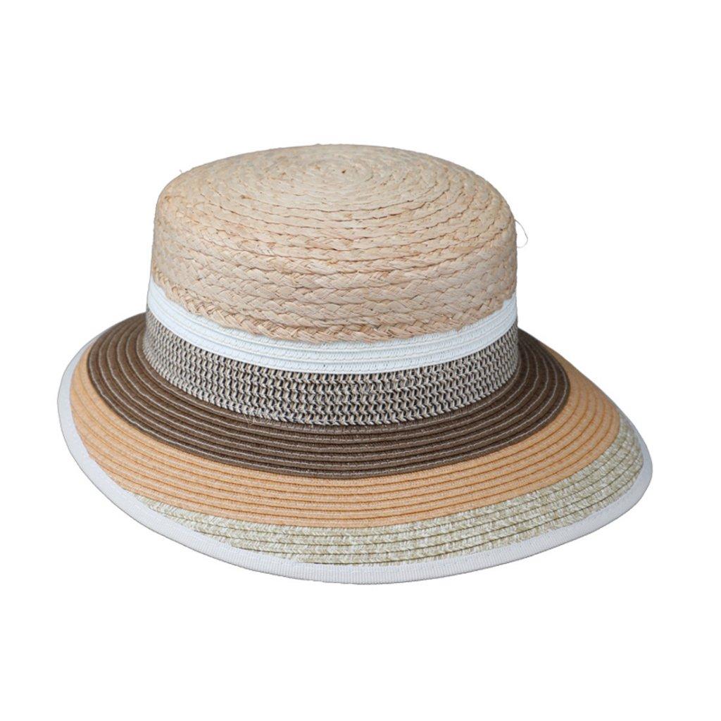 Letní klobouk Fiebig 69876 vícebarevný s prodlouženým kšiltem