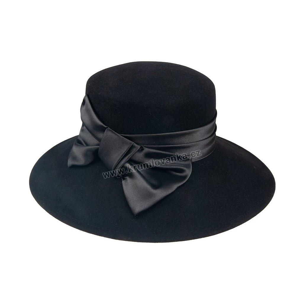 Dámský klobouk TONAK 52021/10 černý Q 9030