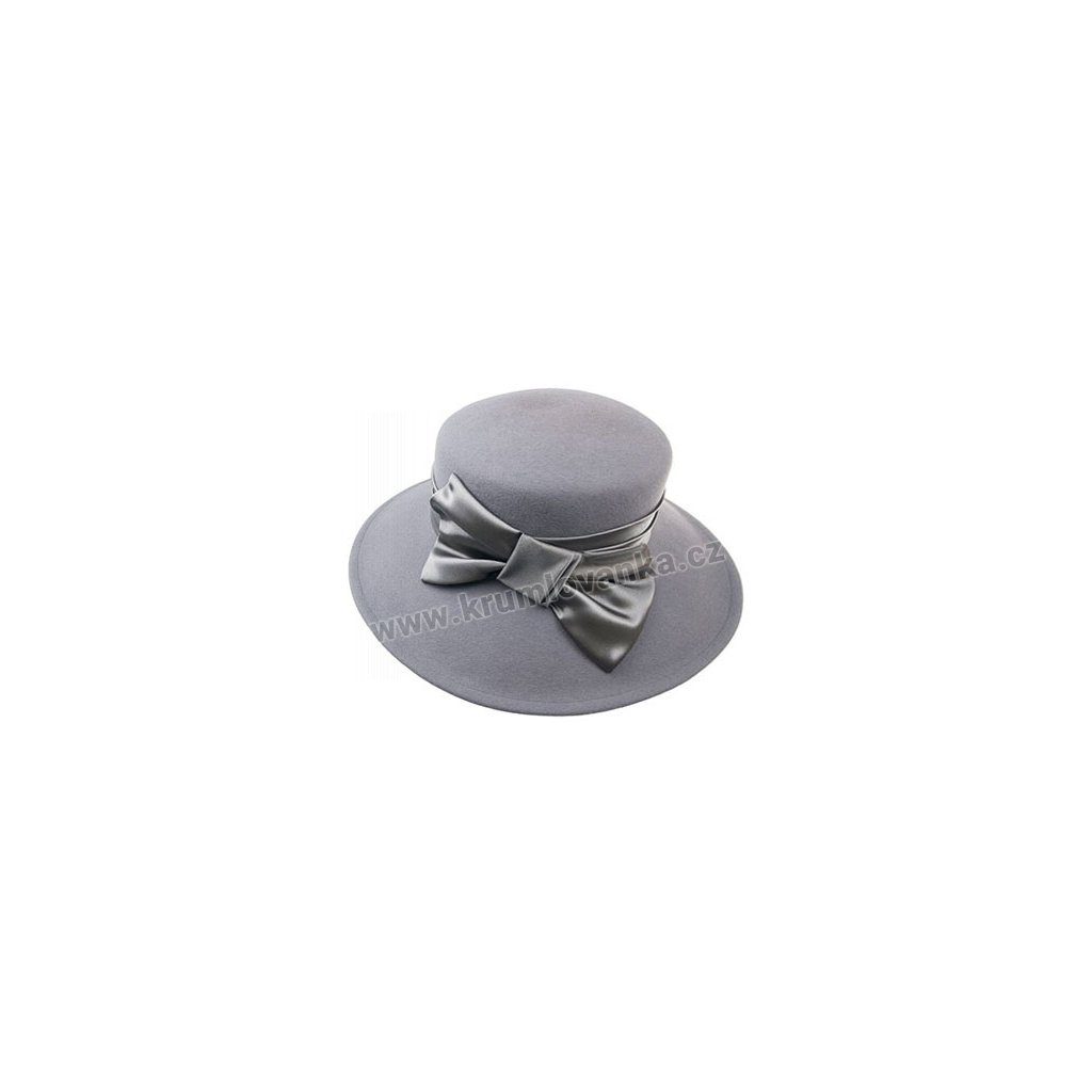 Dámský klobouk TONAK 52021/10 šedý Q 8072
