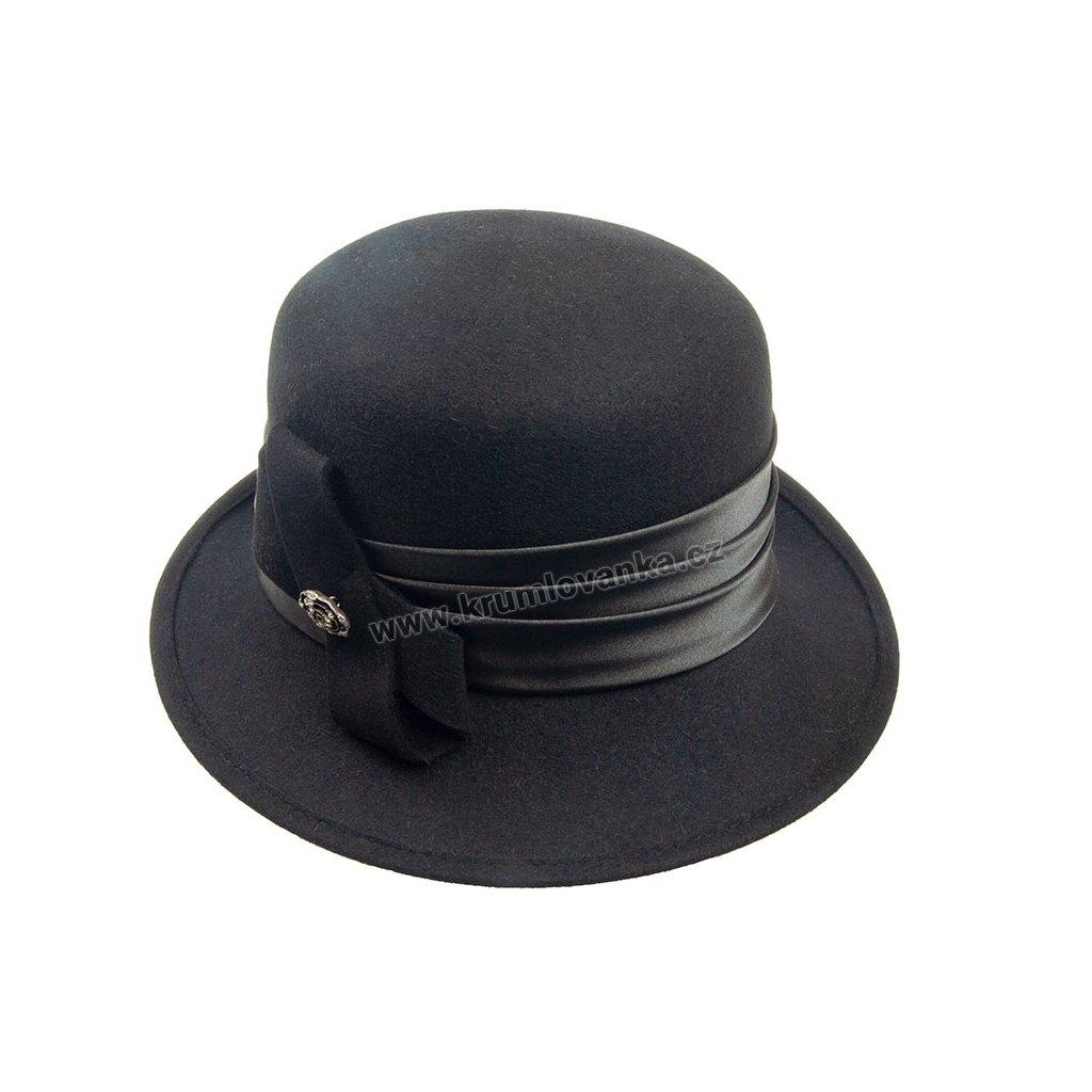 Plstěný klobouk TONAK 52801/15 černý Q 9030