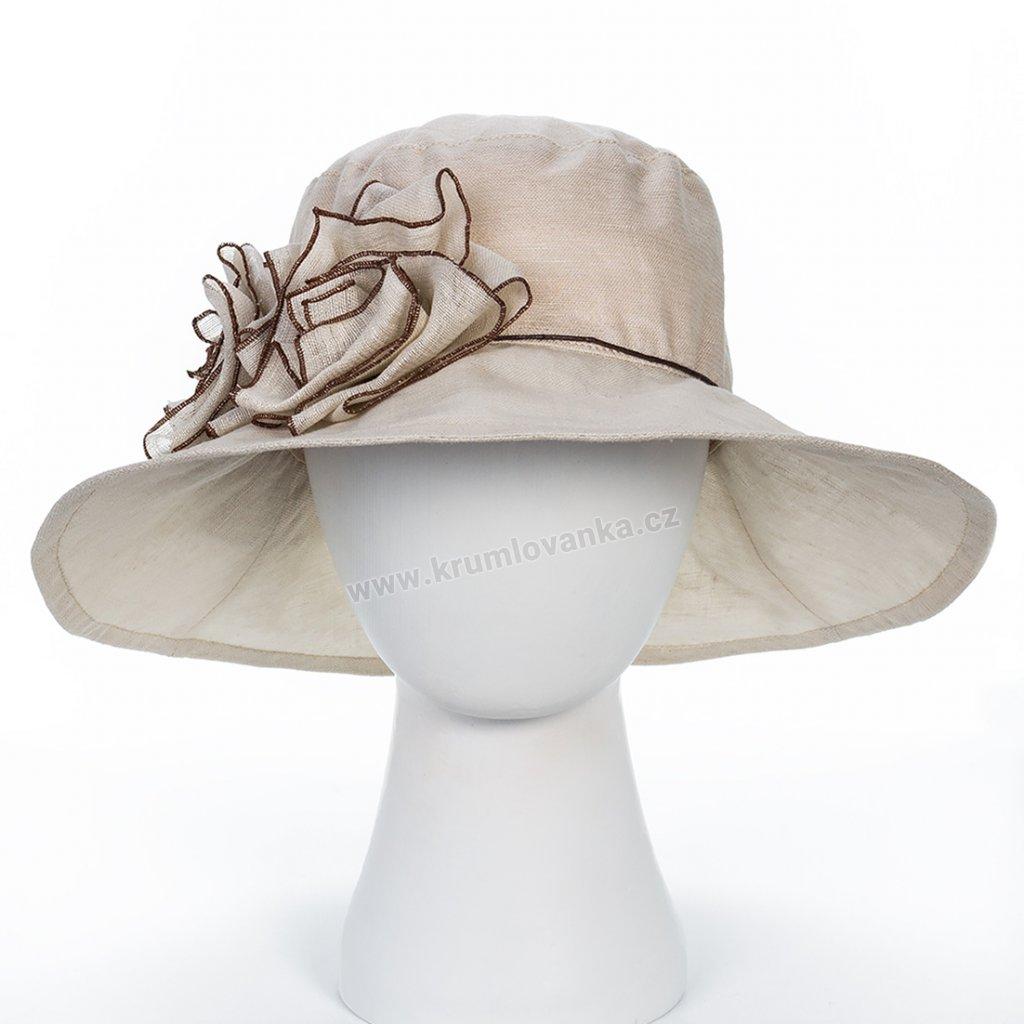 Dámský letní klobouk Krumlovanka 403256 natural